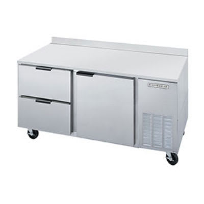 "Beverage Air WTRD60A-2 60"" Work Top Refrigerator w/ (2) Sections & (2) Drawers, 115v"