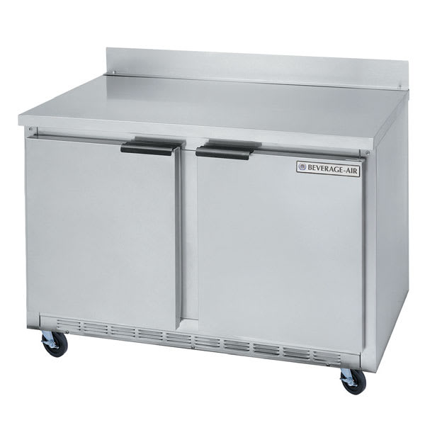 Beverage Air WTRF50A 14.6-cu ft Worktop Freezer/Refrigerator w/ (2) Sections & (2) Doors, 115v