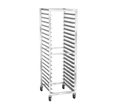 "Lakeside 138 21""W 16-Sheet Pan Rack w/ 3"" Bottom Load Slides"