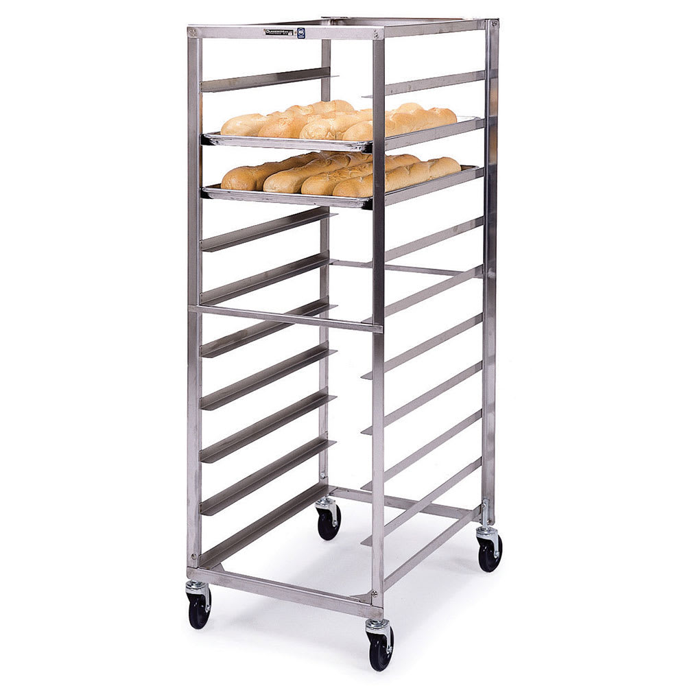 "Lakeside 155 23.25""W 10-Sheet Pan Rack w/ 5"" Bottom Load Slides"