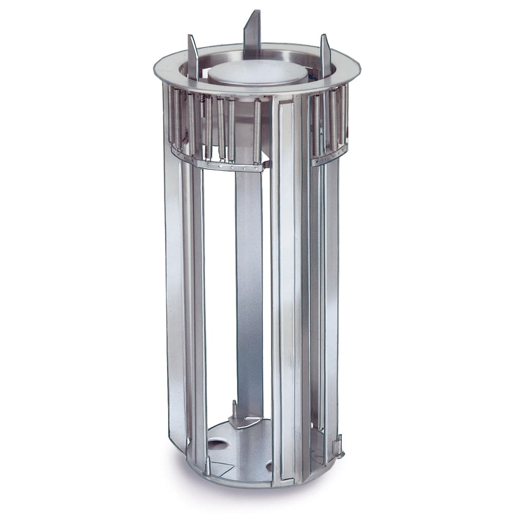 """Lakeside 1942 Drop-In Plate Dispenser for Up To 13.25"""" Diameter, Stainless"""