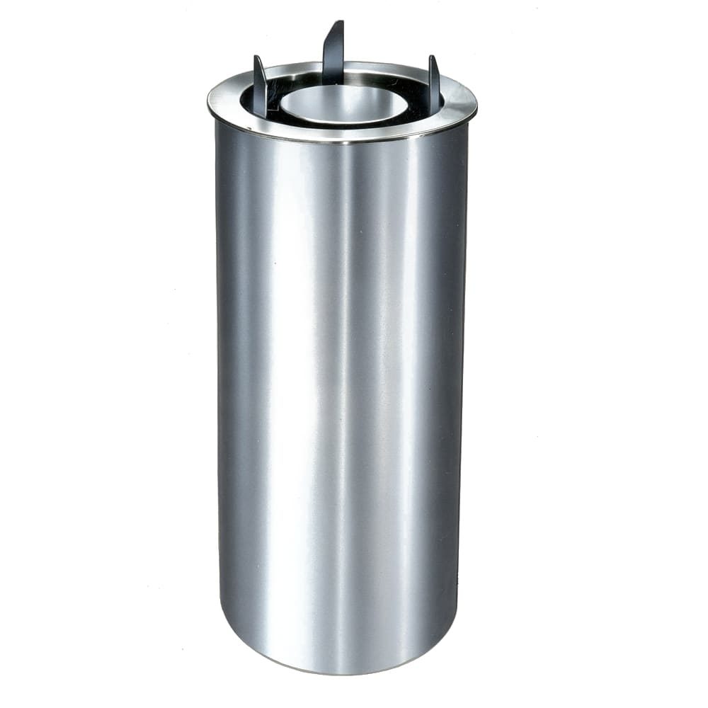"""Lakeside 1943 Enclosed Drop-In Plate Dispenser for Up To 13.25"""", Stainless"""