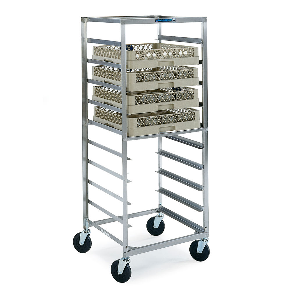 Lakeside 198 Glass Transport Cart w/ 10 Rack Capacity