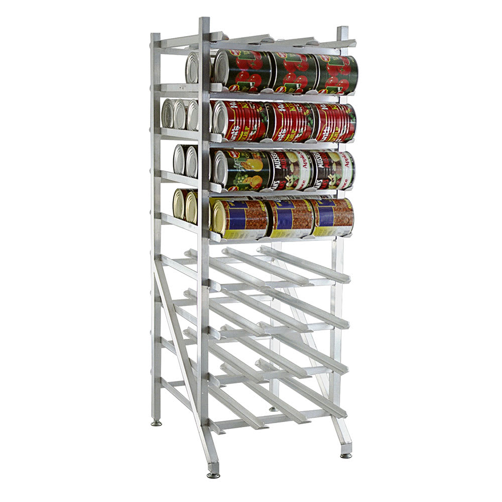 "Lakeside 331 71""H Stationary Can Rack w/ (108) #10 or (144) #5 Capacity"