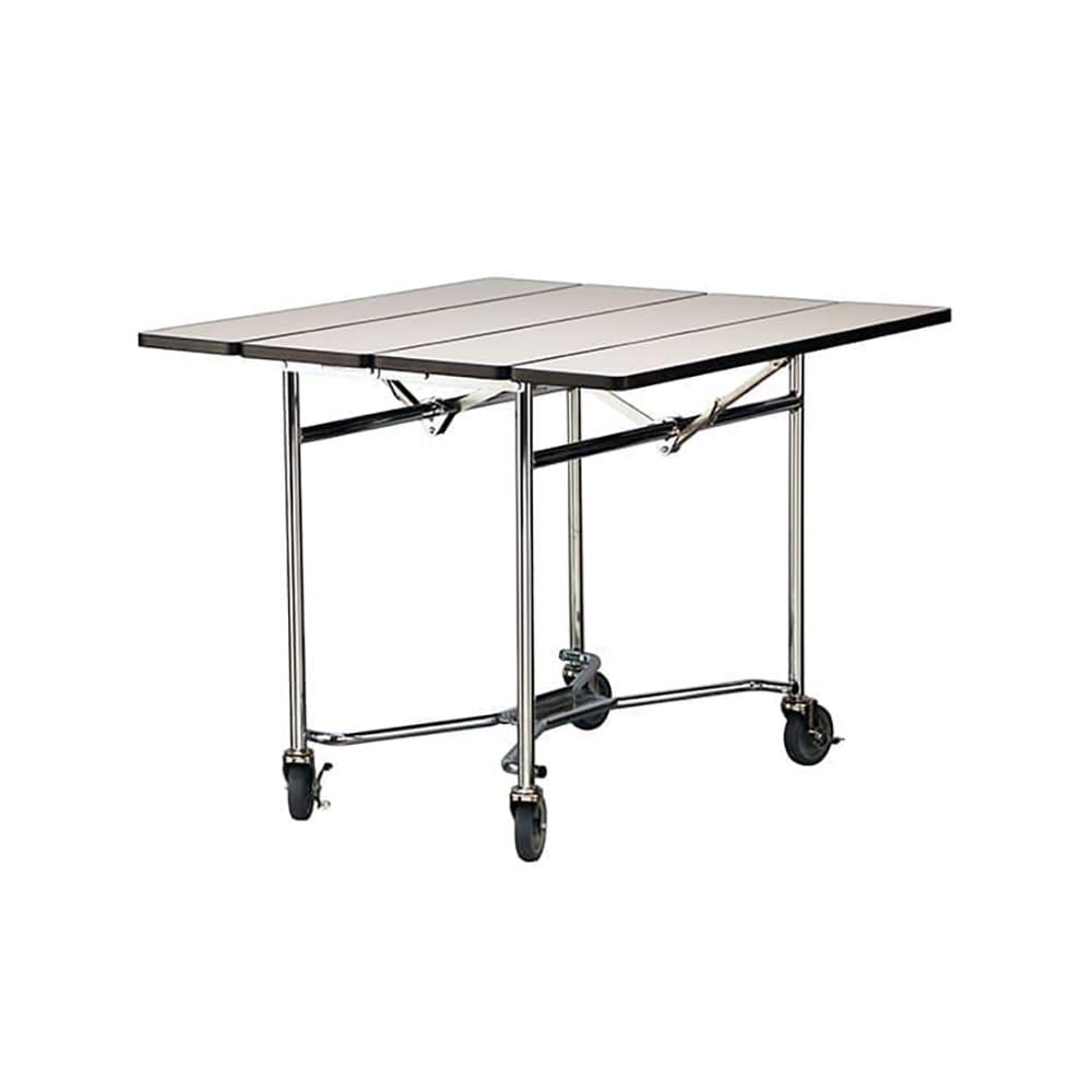 """Lakeside 416 ROYBL 36"""" Square Table Room Service Cart, Royal Blue"""