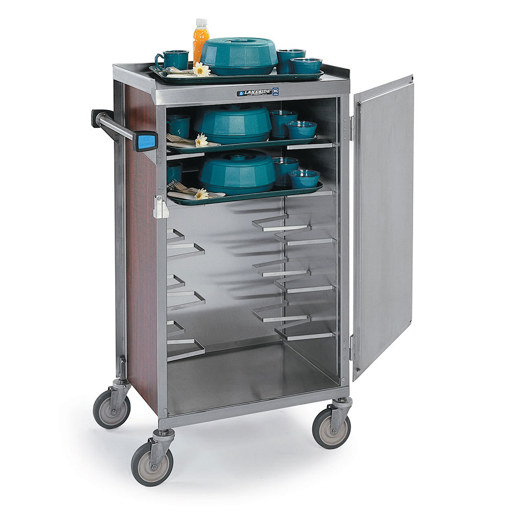 Lakeside 654 WAL 6-Tray Ambient Meal Delivery Cart