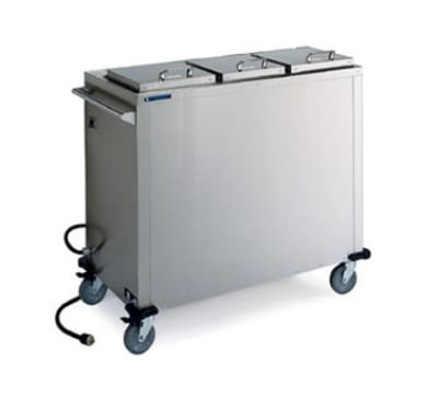 Lakeside 7512 Convection Heated Plate Dispenser w/ 3-Self Leveling Platforms