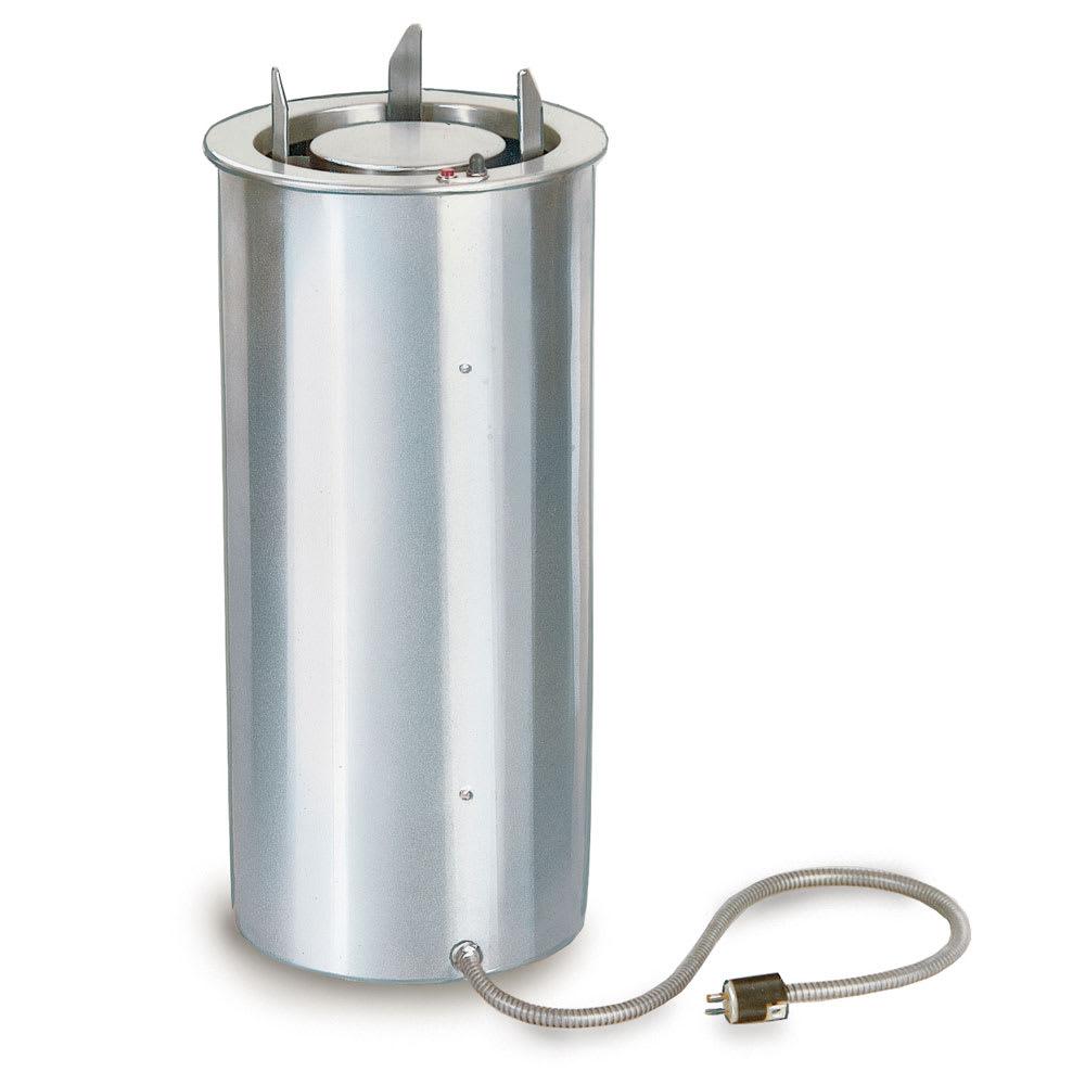 "Lakeside 924 208 9.75"" Heated Drop-In Dish Dispenser w/ Self-Leveling Tube, 208 V"