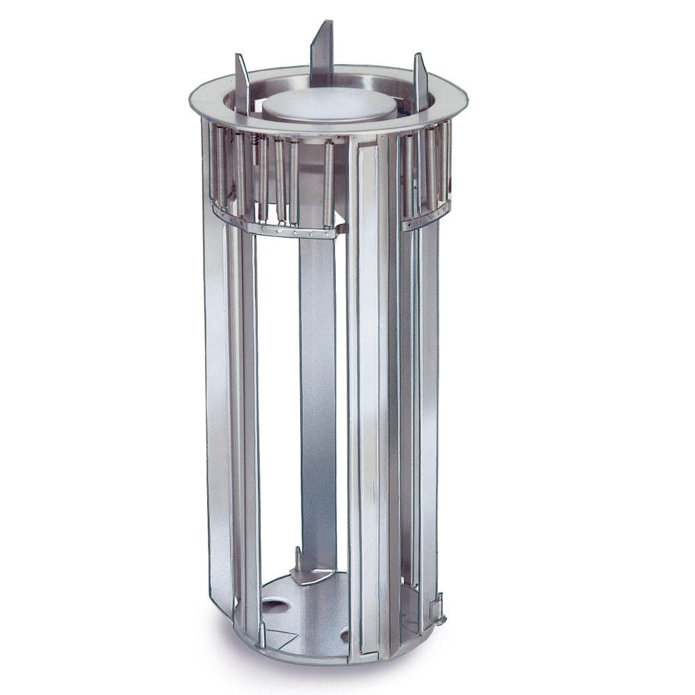 "Lakeside 932 Open Frame Drop-In Dish Dispenser w/ Self-Leveling, 12"""