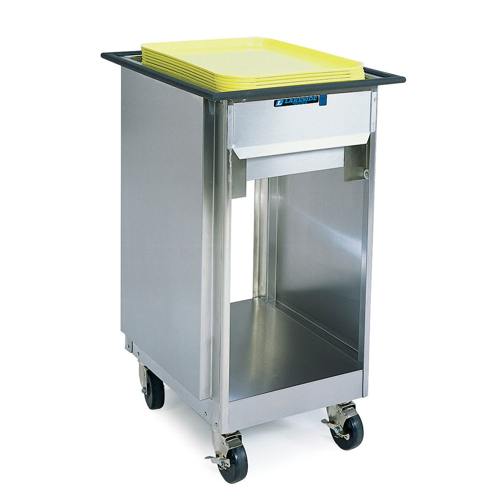 "Lakeside 996 Mobile Tray Dispenser Cabinet for 14 x 18"" or 15 x 20"" Trays"