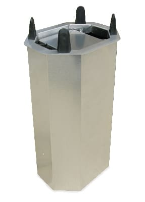 "Lakeside V5010 Shielded Oval Drop-In Dish Dispenser for Up To 7.75 x 10.5"" Platter"