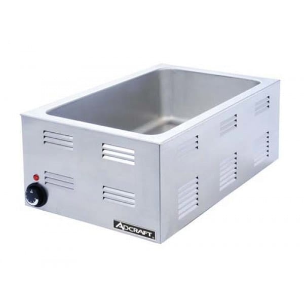 Adcraft FW-1200W Countertop Food Warmer Base Only w/ (1) Full Size Pan Capacity, 120v