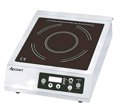 Adcraft IND-B120V Countertop Commercial Induction Cooktop w/ (1) Burner, 120v