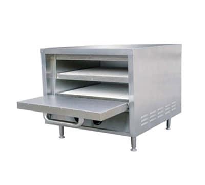 Adcraft PO-18 Countertop Pizza Oven - Single Deck, 240v/1ph