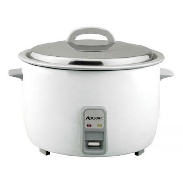 Adcraft RC-E50 Rice Cooker w/ 50 Cup Capacity & Oversized Fork, Measuring Cup