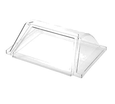 Adcraft RG-09/COV Hot Dog Grill Sneeze Guard for RG-09