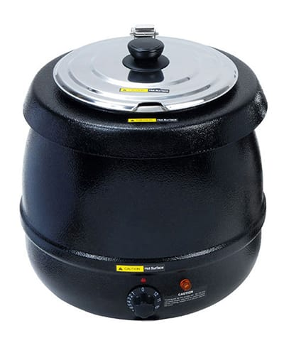 Adcraft SK-600 11 qt Countertop Soup Warmer w/ Thermostatic Controls, 110v