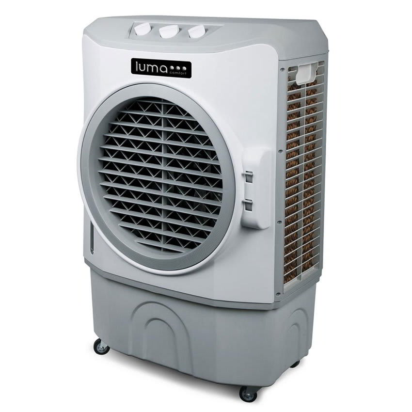 Luma Comfort EC220W Portable Evaporative Cooler w/ 3-Speeds, 650 sq ft