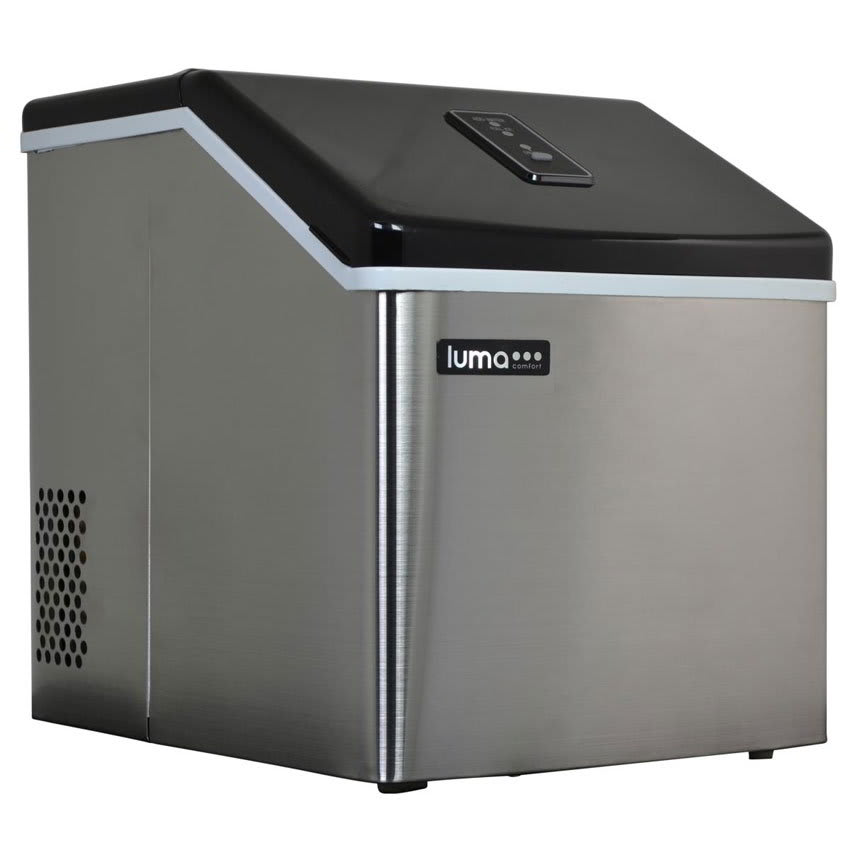 Luma Comfort IM200SS Undercounter Full Cube Ice Maker - 28-lbs/day, Air Cooled, 115v