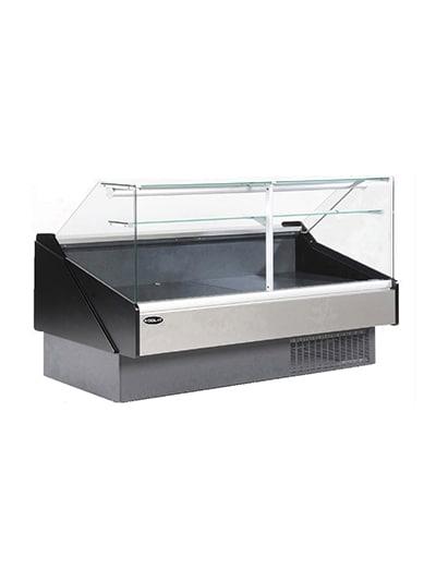 "Kool-It KFM-50R 53"" Full Service Deli Case w/ Curved Glass - (1) Levels, 115v"