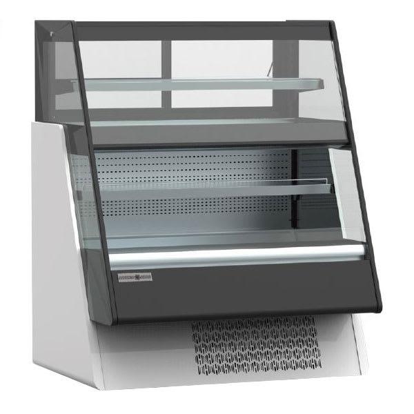 "Kool-It KGL-OU-48 48"" Dual-Service Bakery Case w/ Straight Glass - (3) Levels, 115v"