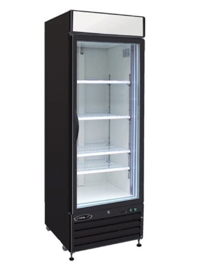 "Kool-It KGM-23 28"" One-Section Glass Door Merchandiser w/ Swing Door, 115v"