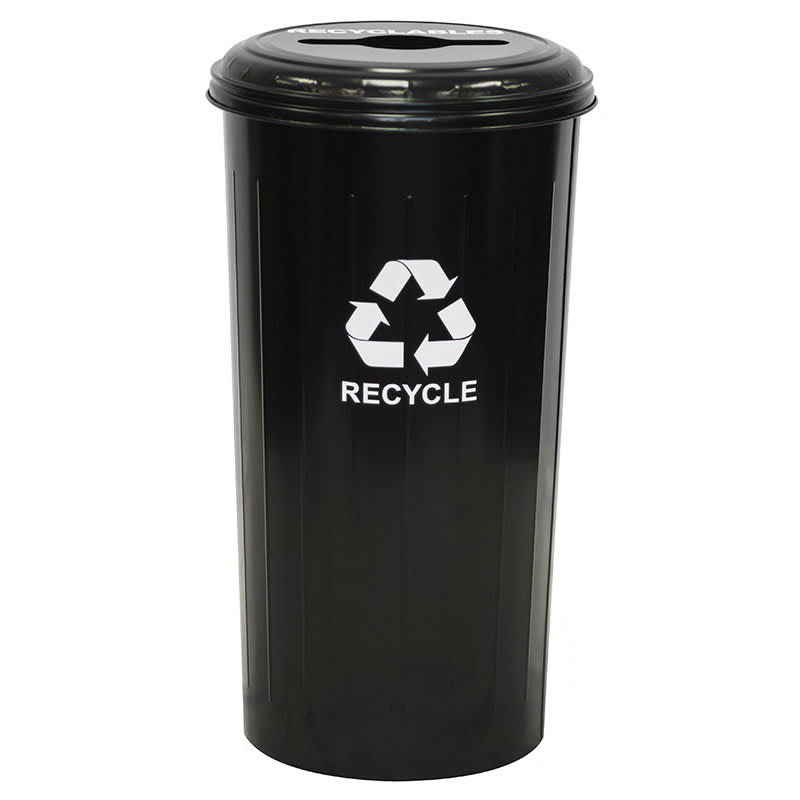 Witt 10/1CTBK 20 gal Multiple Materials Recycle Bin - Indoor, Decorative
