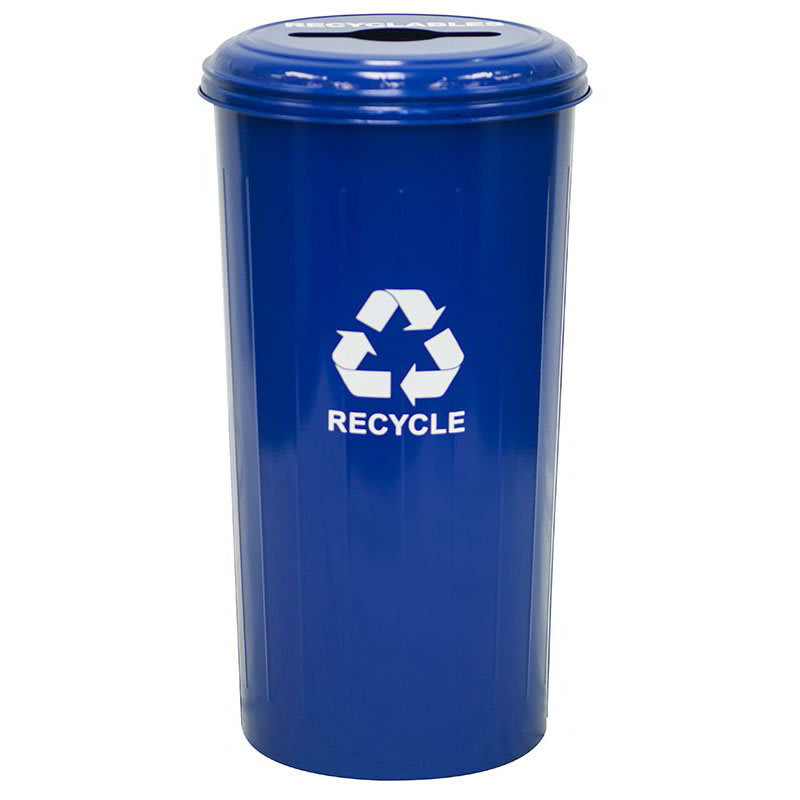 Witt 10/1CTDB 20 gal Multiple Materials Recycle Bin - Indoor, Decorative