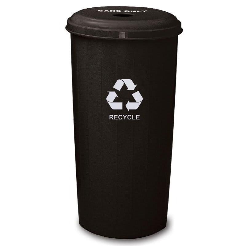 Witt 10/1DTBK 20-gal Cans Recycle Bin - Indoor, Decorative