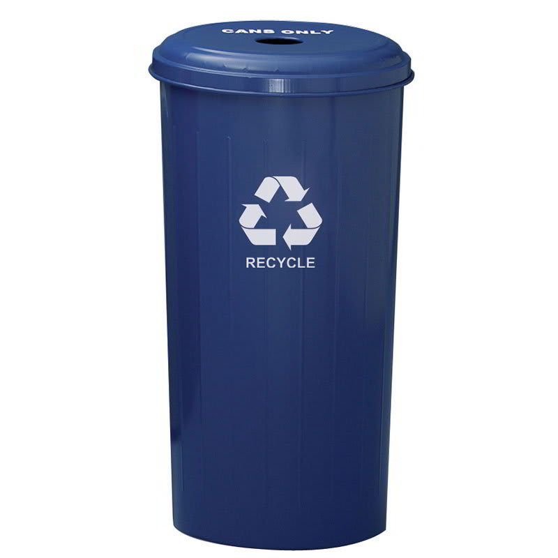 Witt 10/1DTDB 20 gal Cans Recycle Bin - Indoor, Decorative