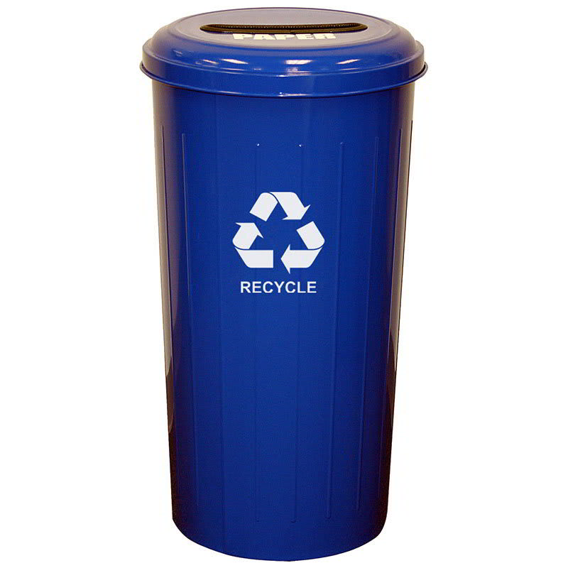 Witt 10/1STDB 20-gal Paper Recycle Bin - Indoor, Decorative