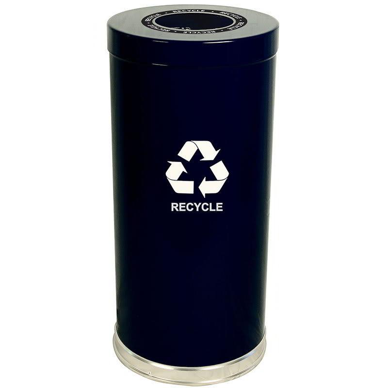 Witt 15RTBK-1H 24-gal Multiple Materials Recycle Bin - Indoor, Decorative