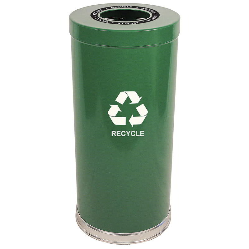 Witt 15RTGN-1H 24 gal Multiple Materials Recycle Bin - Indoor, Decorative