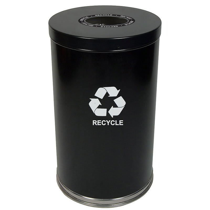 Witt 18RTBK-1H 35 gal Multiple Materials Recycle Bin - Indoor, Decorative