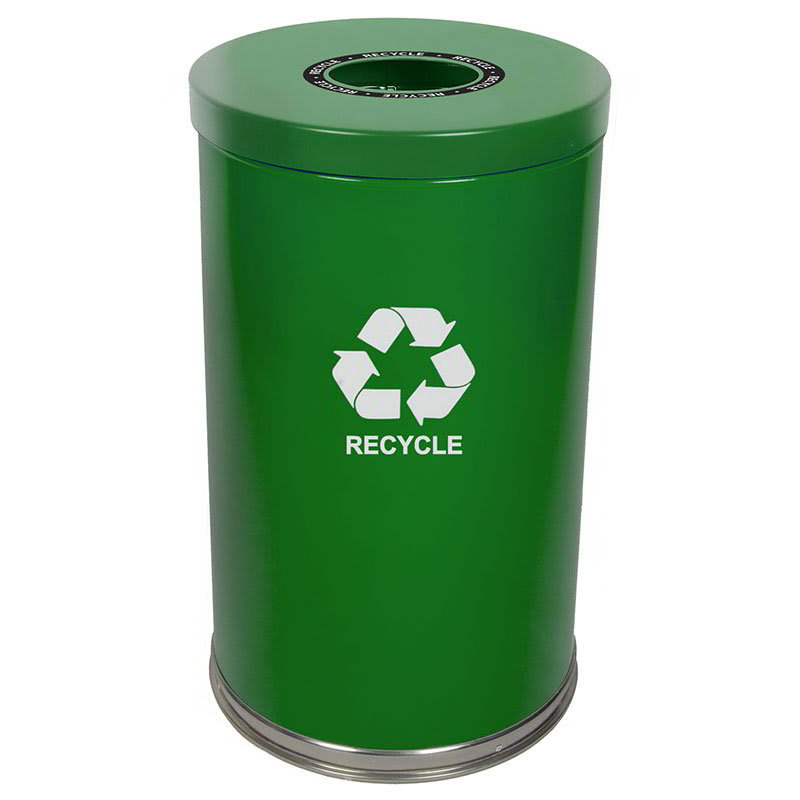 Witt 18RTGN-1H 35 gal Multiple Materials Recycle Bin - Indoor, Decorative