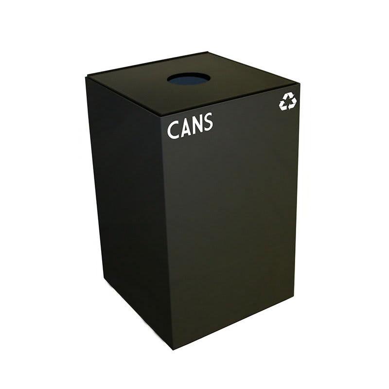 Witt 24GC01-CB 24-gal Cans Recycle Bin - Indoor, Fire Resistant