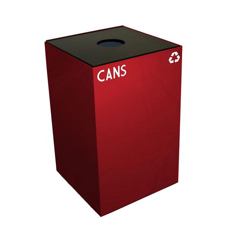 Witt 24GC01-SC 24-gal Cans Recycle Bin - Indoor, Fire Resistant