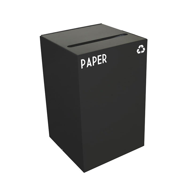 Witt 24GC02-CB 24-gal Paper Recycle Bin - Indoor, Fire Resistant