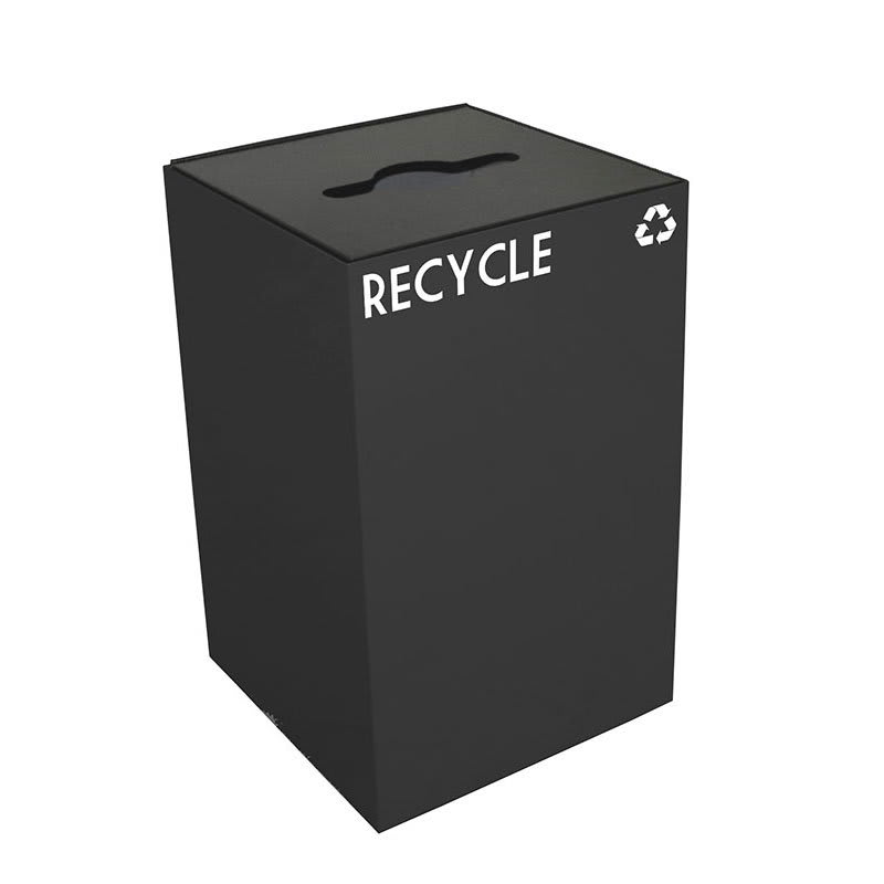 Witt 24GC04-CB 24-gal Multiple Materials Recycle Bin - Indoor, Fire Resistant