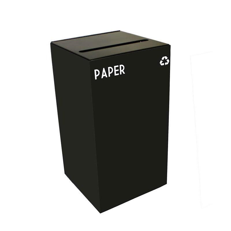 Witt 28GC02-CB 28 gal Paper Recycle Bin - Indoor, Fire Resistant