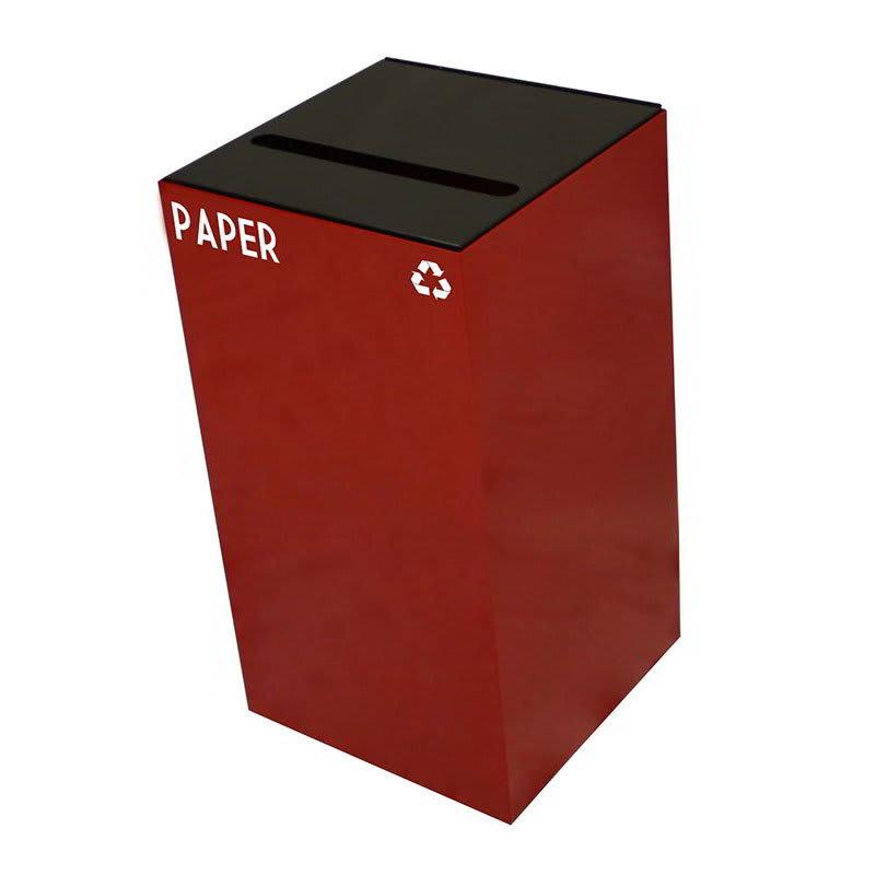 Witt 28GC02-SC 28 gal Paper Recycle Bin - Indoor, Fire Resistant