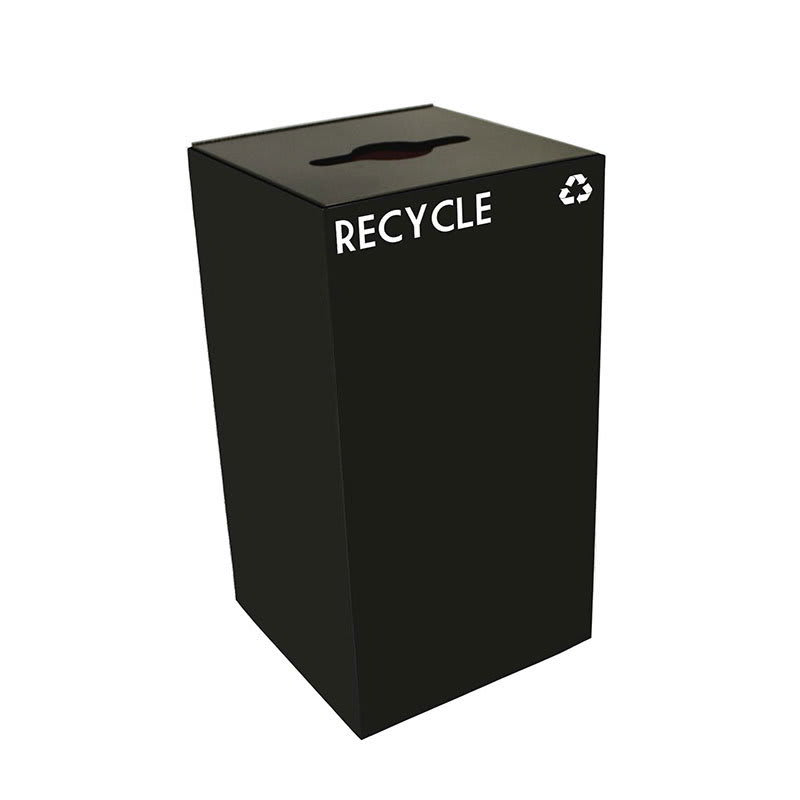 Witt 28GC04-CB 28 gal Multiple Materials Recycle Bin - Indoor, Fire Resistant