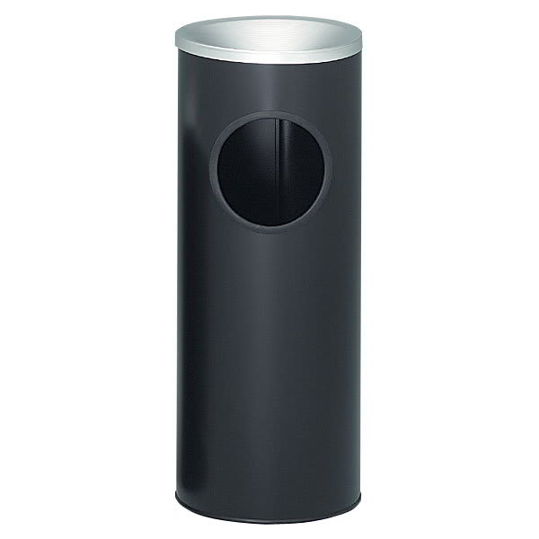 Witt 3000BK Trash Can Top Cigarette Receptacle - Outdoor Rated