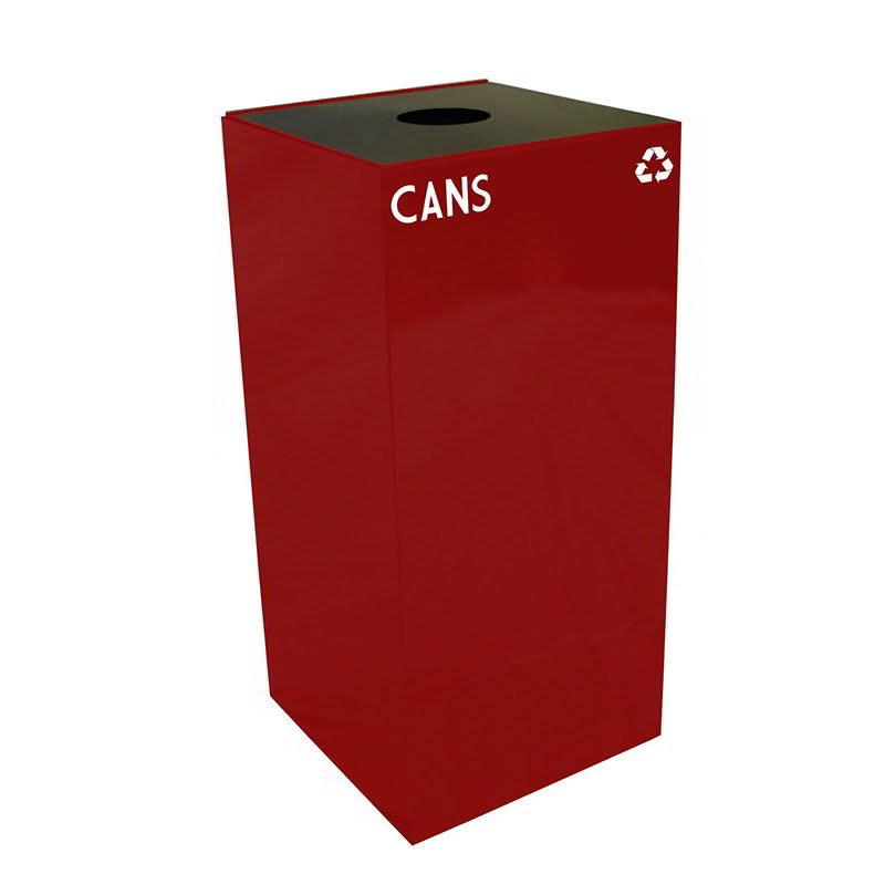 Witt 32GC01-SC 32 gal Cans Recycle Bin - Indoor, Fire Resistant