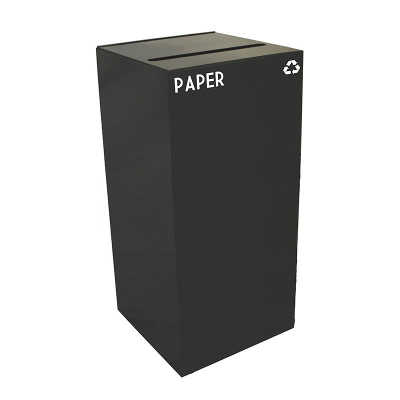 Witt 32GC02-CB 32 gal Paper Recycle Bin - Indoor, Fire Resistant