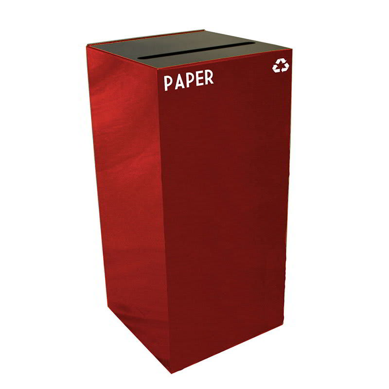 Witt 32GC02-SC 32-gal Paper Recycle Bin - Indoor, Fire Resistant