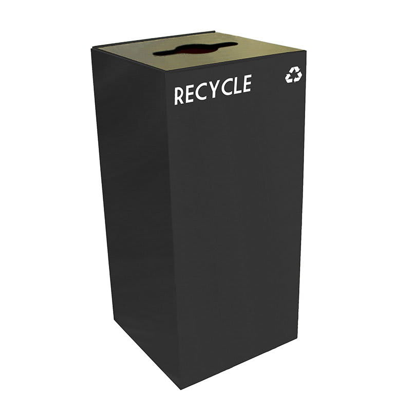 Witt 32GC04-CB 32 gal Multiple Materials Recycle Bin - Indoor, Fire Resistant