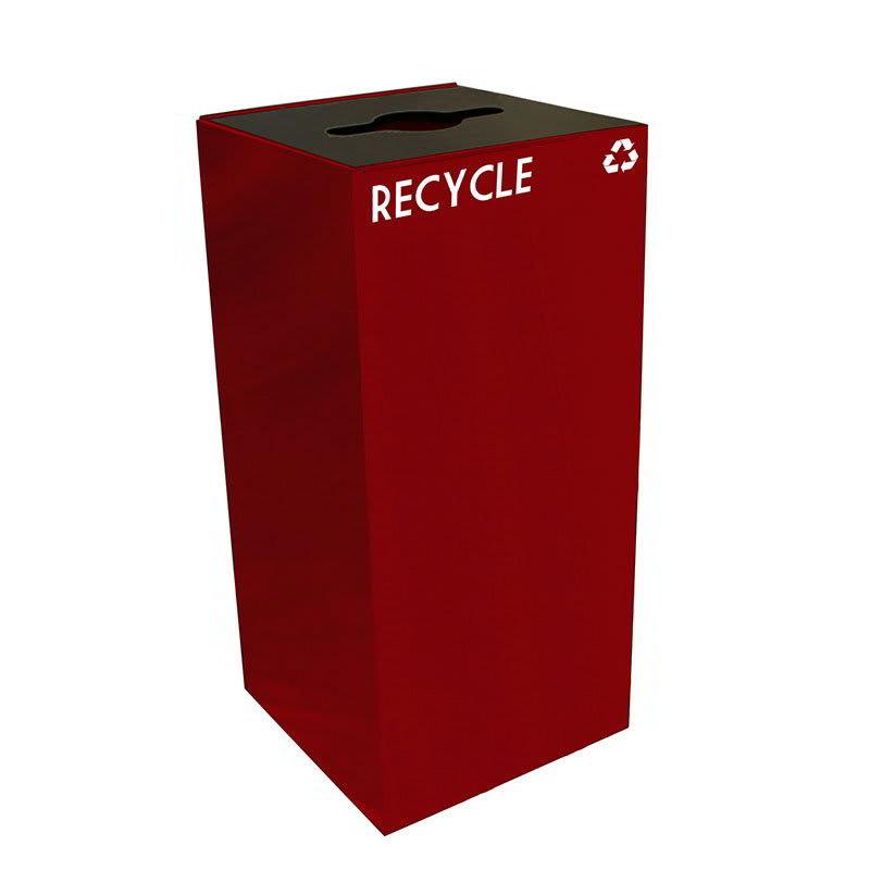 Witt 32GC04-SC 32 gal Multiple Materials Recycle Bin - Indoor, Fire Resistant