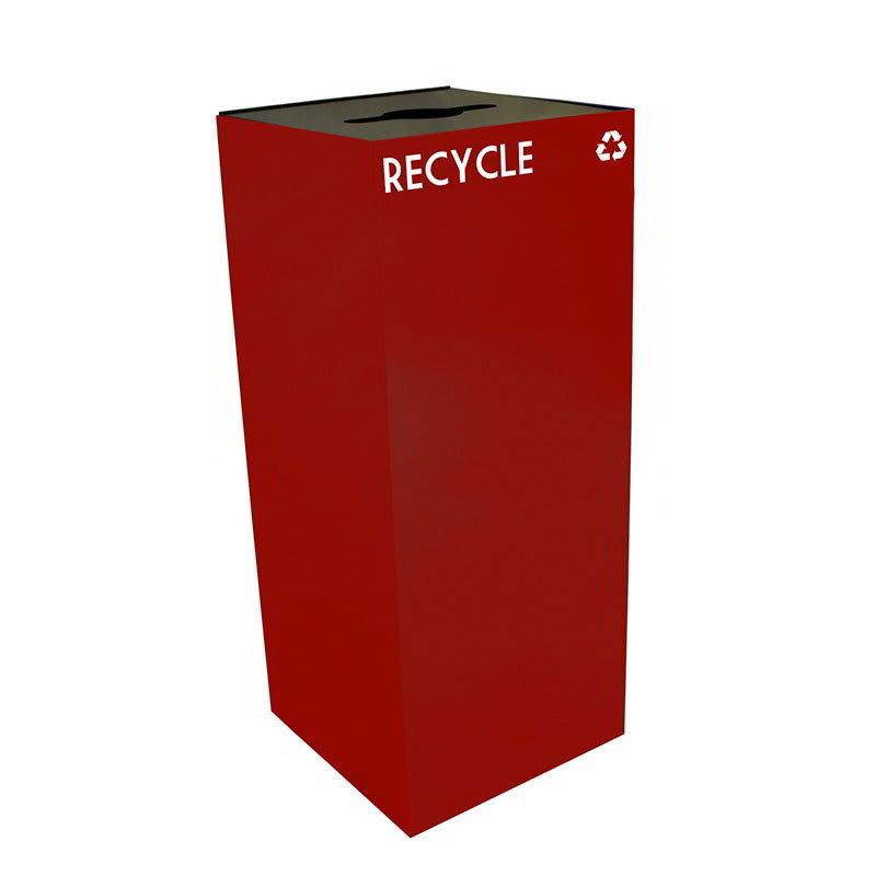 Witt 36GC04-SC 36 gal Multiple Materials Recycle Bin - Indoor, Fire Resistant