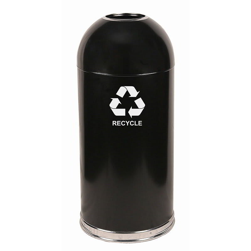 Witt 415DTBK-R 15-gal Multiple Materials Recycle Bin - Indoor, Decorative